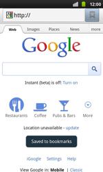 Samsung I9001 Galaxy S Plus - Internet - Internet browsing - Step 6