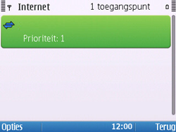 Nokia E5-00 - Internet - handmatig instellen - Stap 14