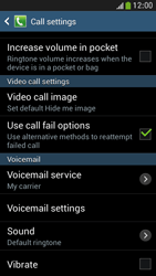 Samsung I9195 Galaxy S IV Mini LTE - Voicemail - Manual configuration - Step 6