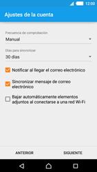 Sony Xperia M4 Aqua - E-mail - Configurar Yahoo! - Paso 9