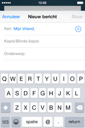 Apple iPhone 4S iOS 8 - E-mail - hoe te versturen - Stap 6