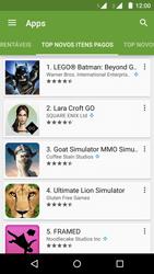 Motorola Moto G (2ª Geração) - Aplicativos - Como baixar aplicativos - Etapa 10