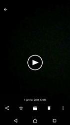 Sony Sony Xperia XA - Photos, vidéos, musique - Créer une vidéo - Étape 15