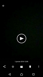 Sony Sony Xperia E5 - Photos, vidéos, musique - Créer une vidéo - Étape 15