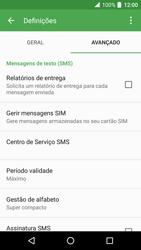 Alcatel Idol 4 VR - SMS - Como configurar o centro de mensagens -  7