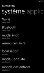 Nokia Lumia 520 - Réseau - Changer mode réseau - Étape 4