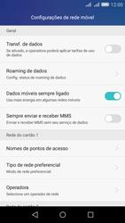 Huawei Y6 - Rede móvel - Como ativar e desativar uma rede de dados - Etapa 5