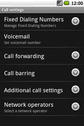 Samsung I5700 Galaxy Spica - Voicemail - Manual configuration - Step 5