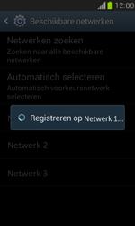 Samsung I8190 Galaxy S III Mini - Netwerk - Handmatig netwerk selecteren - Stap 13