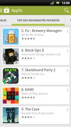 Sony Ericsson Xpéria Arc - Applications - Télécharger une application - Étape 10