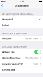Apple iPhone 5 iOS 7 - E-mail - e-mail instellen: POP3 - Stap 22