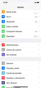 Apple iPhone X - Mensajería - Configurar el equipo para mensajes multimedia - Paso 3