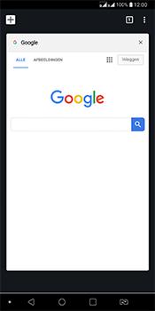 LG Q7 - Internet - Hoe te internetten - Stap 15