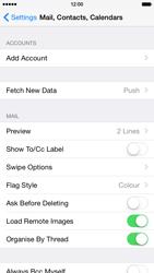 Apple iPhone 6 - E-mail - Manual configuration (yahoo) - Step 4