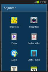 Samsung S6310 Galaxy Young - Mensajería - Escribir y enviar un mensaje multimedia - Paso 14