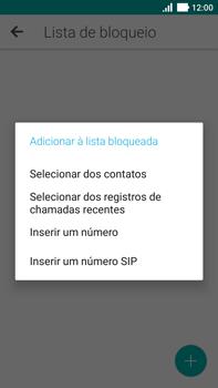 Asus Zenfone 3 - Chamadas - Como bloquear chamadas de um número específico - Etapa 10