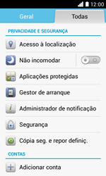 NOS LUNO - Segurança - Como ativar o código PIN do cartão de telemóvel -  4