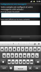 Sony LT26i Xperia S - E-mail - Configurer l