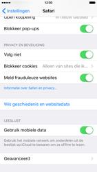 Apple iPhone 6 met iOS 9 (Model A1586) - Privacy - Privacy instellingen van de browser aanpassen - Stap 8