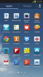 Samsung Galaxy S3 4G - Photos, vidéos, musique - Envoyer une photo via Bluetooth - Étape 3