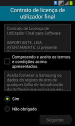 Samsung Galaxy Fresh Duos - Primeiros passos - Como ligar o telemóvel pela primeira vez -  9