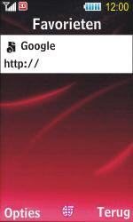 Samsung S7350 Ultra Slide - Internet - Hoe te internetten - Stap 9