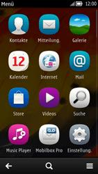 Nokia C7 - Internet - Internetverbindung - Manuelle Einstellung - Schritt 4