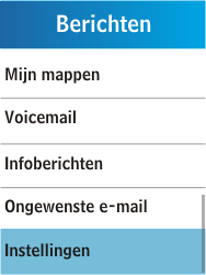 Samsung C3300K - E-mail - Handmatig instellen - Stap 5