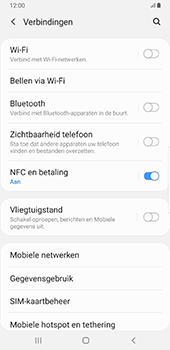 Samsung Galaxy S8+ - Android Pie (SM-G955F) - Internet - Uitzetten - Stap 6