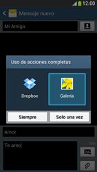 Samsung Galaxy S4 Mini - Mensajería - Escribir y enviar un mensaje multimedia - Paso 16