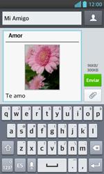 LG Optimus L5 II - Mensajería - Escribir y enviar un mensaje multimedia - Paso 17