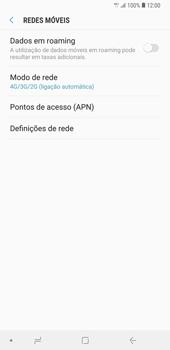Samsung Galaxy Note9 - Internet no telemóvel - Como ativar 4G -  8