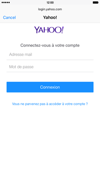 Apple iPhone 6 Plus iOS 9 - E-mail - Configuration manuelle (yahoo) - Étape 6