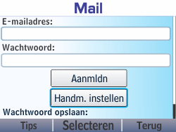 Nokia Asha 210 - E-mail - Handmatig instellen - Stap 7