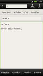 HTC S720e One X - E-mail - envoyer un e-mail - Étape 8