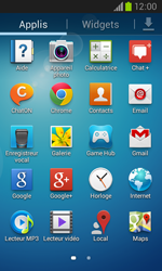 Samsung I8260 Galaxy Core - E-mail - Configuration manuelle - Étape 3