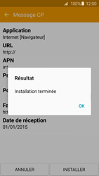 Samsung G920F Galaxy S6 - Internet - Configuration automatique - Étape 8