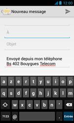 Bouygues Telecom Bs 402 - E-mails - Envoyer un e-mail - Étape 5