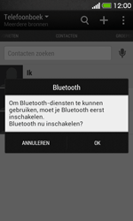 HTC Desire 500 - Contactgegevens overzetten - delen via Bluetooth - Stap 10