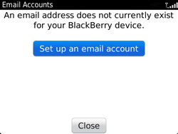 BlackBerry 9360 Curve - E-mail - Manual configuration - Step 6