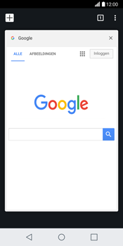 LG H870 G6 - Internet - Hoe te internetten - Stap 14