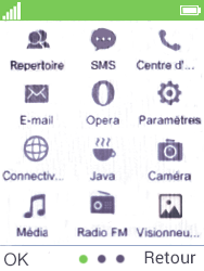 Mobiwire Doli - Contact, Appels, SMS/MMS - Envoyer un MMS - Étape 3
