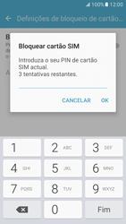 Samsung Galaxy S7 - Segurança - Como ativar o código PIN do cartão de telemóvel -  8