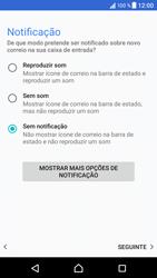 Sony Xperia XZ - Android Nougat - Email - Configurar a conta de Email -  22