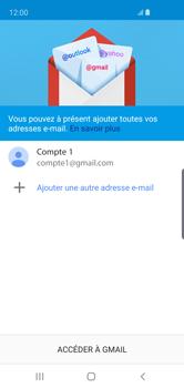 Samsung Galaxy S10e - E-mail - Configurer l
