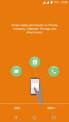 Wiko U-Feel Lite - E-mail - Manual configuration (outlook) - Step 4