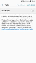 Samsung Galaxy J2 Prime - Wi-Fi - Como configurar uma rede wi fi - Etapa 6