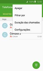 Samsung Galaxy J1 - Chamadas - Como bloquear chamadas de um número específico - Etapa 5