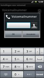 Sony Ericsson Xperia Arc S - Voicemail - handmatig instellen - Stap 7