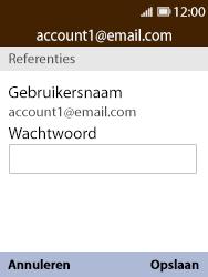 Nokia 8110-ta-1071 - E-mail - Instellingen KPNMail controleren - Stap 11